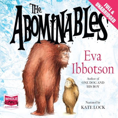 The Abominables audiobook cover art