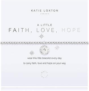 كاتي لوكستون القليل من الإيمان الحب الأمل المرأة تمتد قابل للتعديل الفرقة أزياء سحر سوار