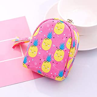 Small Cute Coin Purse Tassel Pendant Backpack Shape Keychain Bag Accessories Creative Schoolbag Shape Cute Pendant