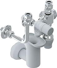 """AEG 233717 ventielcombinatie G 11/10 2"""" G 11/10 2"""" voor wandopslag, gesloten ontwerp, inbouw, AD 796, chroom"""