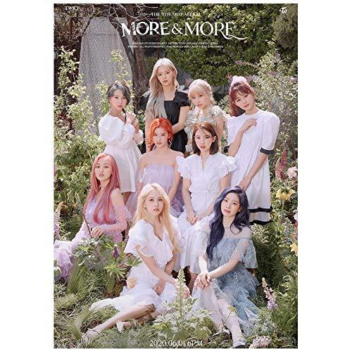dili-bala KPOP Twice [M�S Y M�S] Foto del póster del Noveno álbum para fanáticos...
