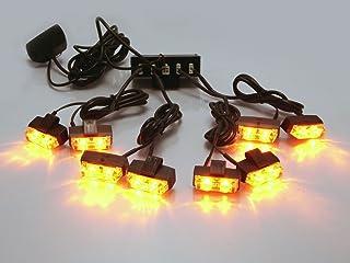 Set di 4 LED Stop E Coda Luci 2 50mm 4x4 Frecce Auto Pick Up Camion