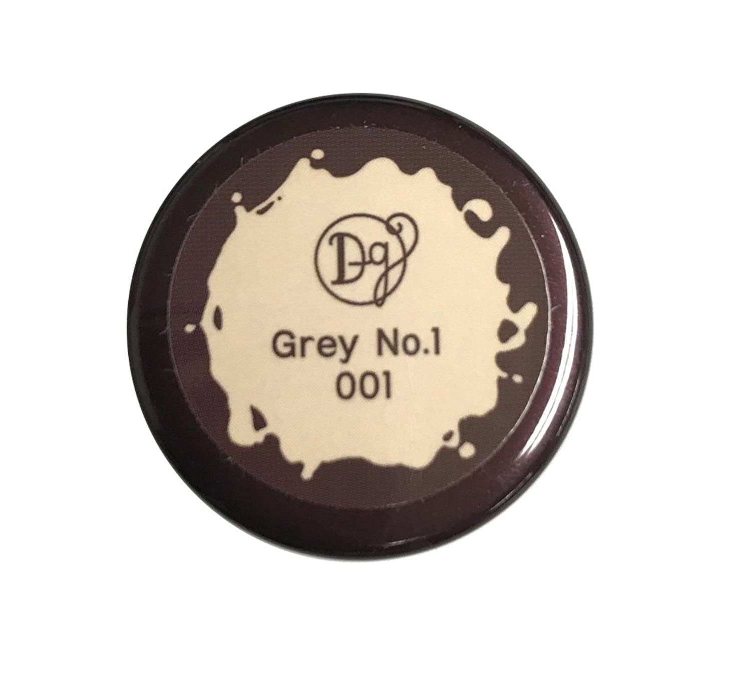 気絶させる公平誘惑するデコラガール カラージェル 001 グレーNo1 3g