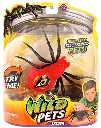 Ragno selvaggio Eyegore animale elettronico Wild Pets Spider Giochi Preziosi