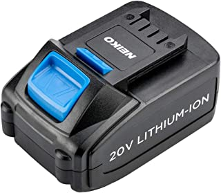 Neiko 40063 Replacement Rechargeable Battery for Cordless Impact Wrench, 4.0Ah Li-Ion | DC 20V Rated Voltage