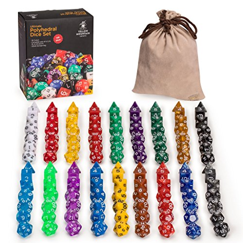 Yellow Mountain Imports Polyhedral Dice - Set of...
