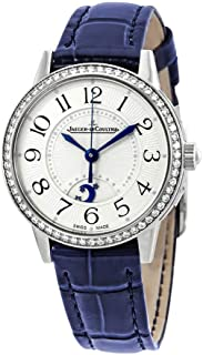 Jaeger Lecoultre Rendez-Vous Night & Day Small Silver Dial Ladies Diamond Watch 3468430