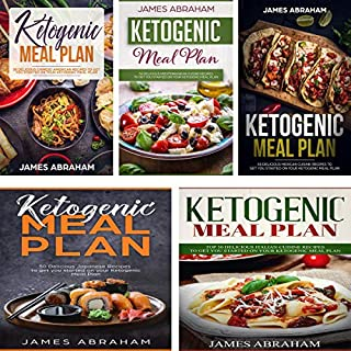 Ketogenic Meal Plan: 5 Books in 1 cover art