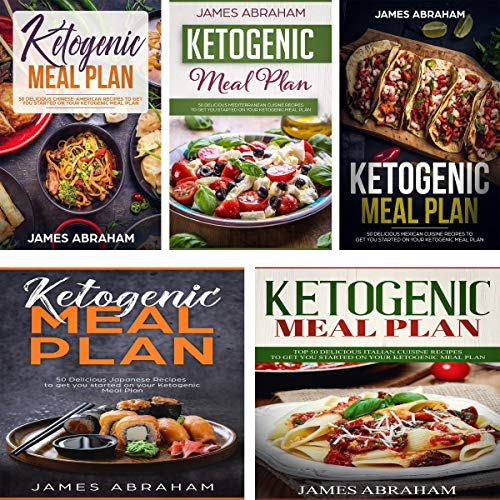 Ketogenic Meal Plan: 5 Books in 1 audiobook cover art