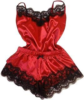 Goddessvan 2019 2 Piece Set Sexy Lace Sleepwear Lingerie Temptation Babydoll Underwear Nightdress