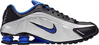 Mens Shox R4 Leather Trainers