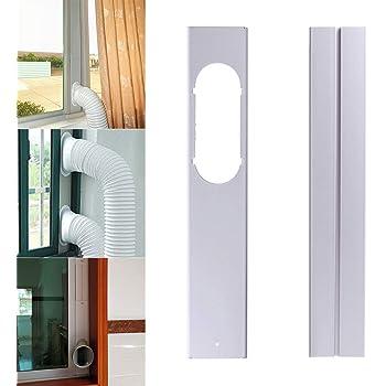 Klarstein Window Kit 2 Sellado de ventanas para aire acondicionado (para ventanas deslizantes, aumenta la eficiciencia): Amazon.es: Hogar