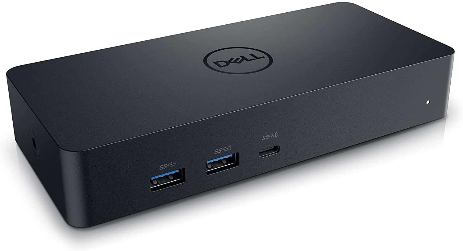 Dell Universal Dock - D6000S, Equipped with USB-C/USB-A PowerShare Options, Connect Upto Three 4K Displays, LED Indicator, Black