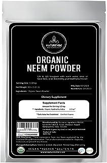 Naturevibe Botanicals USDA Organic Neem Leaf Powder, 5lbs | Azadirachta Indica | Non-GMO and Gluten Free | 100% Pure & Nat...