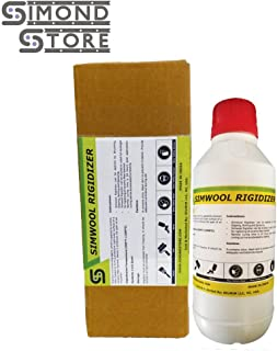 Simwool Rigidizer - Coating for Ceramic Fiber Blanket - 1 Quart
