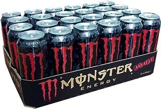 Monster Energy Drink Assault 24 x 0,5l Dose
