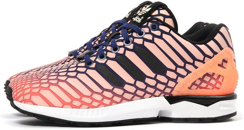 Adidas ZX Flux W Women's shoes Sun Glow Ink White aq8230 (8.5 B(M) US)