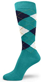 Spotlight Hosiery Men Argyle Dress Socks Small Size .Mens Socks Size 6-10