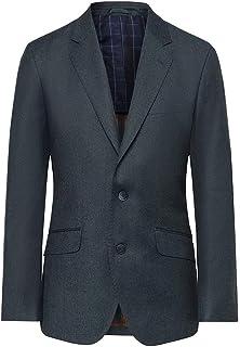 Hackett London Men's Performance Flannel Ep Suit Jacket