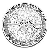 Moneda de plata canguro 2020, 1 onza, fresca, empaquetada individualmente en cápsula para monedas.