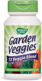 Nature's Way Garden Veggies, 12 veggie blend, 60 vegetarian capsules