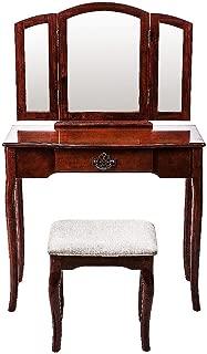 retro dressing table chair