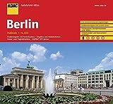 ADAC AutofahrerAtlas Berlin 1:14 000: Straßenregister mit Postleitzahlen. Citypläne. Verkehrslinien-, Messe- und Flughafenpläne. CityPilot. GPS-genau