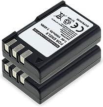 CELLONIC 2X Batería Premium Compatible con Nikon D3000 D5000 D60 D40 D40x (1000mAh) EN-EL9,ENEL9a,EN EL9E bateria de Repuesto, Pila reemplazo, sustitución