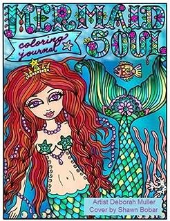 Mermaid Soul Coloring Journal