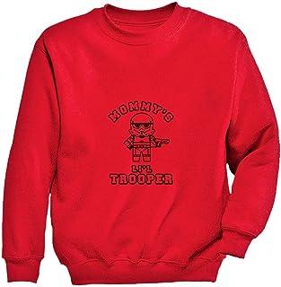 Tstars - かわいいミニトルーパーギフト ママのキュートトルーパー スイートトルーパープレゼント 楽しい小さなトルーパープレゼント キッズスウェットシャツ