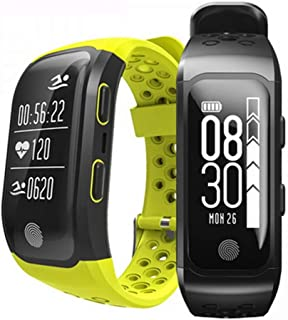 JSGJSH 2018 New Smart Bracelet Jimate G03 GPS Tacker Smart Bracelet IP68 Waterproof Swimming SmartBand Heart Rate Monitor S908 Wristband for iOS Android Band