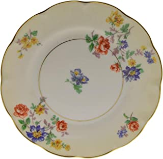 Theodore Haviland Normandies Garden Ivory Floral 6 3/8