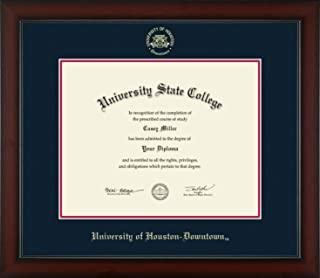 University of Houston Downtown - Officially Licensed - Gold Embossed Diploma Frame - Diploma Size 14