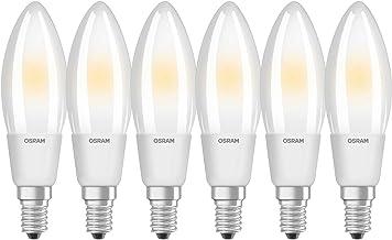 OSRAM LED Retrofit Classic B Dimmable / LED lamp, Classic Mini Candle Shape: E14, Dimmable, 5 W, 220…240 V, 40 W Replaceme...
