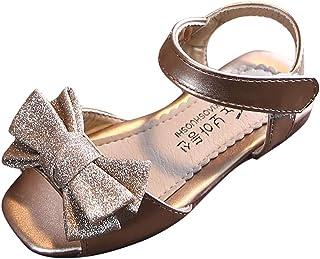 Fossen Zapatos de Princesas para Niña Zapato de Arco Niños Niñas - Sandalias Niña Verano Playa