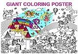Alex Art, Póster gigante para colorear – Póster de unicornio y hada a color...
