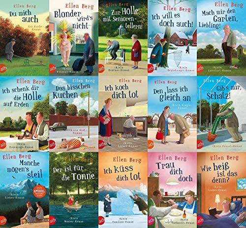Ellen Berg 15 Romane im Set + 1 exklusives Postkartenset