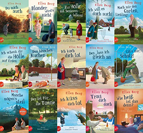 Ellen Berg 15 Romane im Set