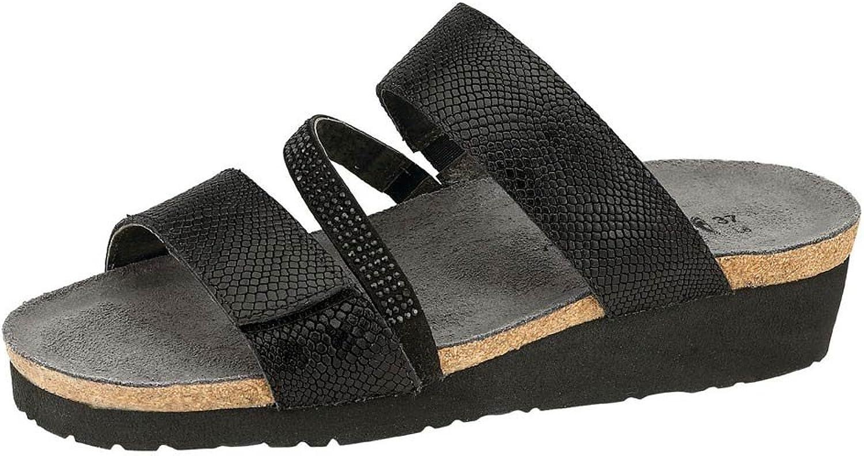 Naot Womens Sheryl Wedge Slide Sandal