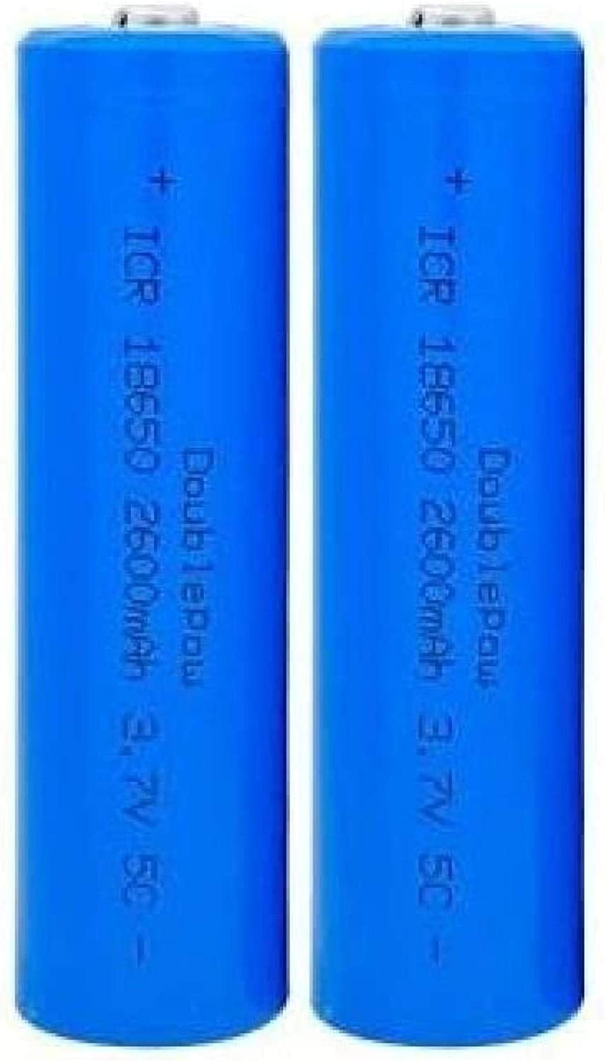 3.7V Ranking TOP2 2600mAh 18650 Rechargeable Battery Batteries- Max 51% OFF Lithium