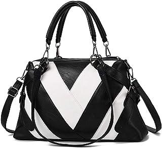 BUKESIYI Damen Tasche Umhängetasche Handtasche Frauen Klein Schultertasche Weekender Lack PU Leder CCDE77131