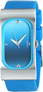 Guess I60407L4 Silicone Band Gradient-Color Dial Analog Watch for Women