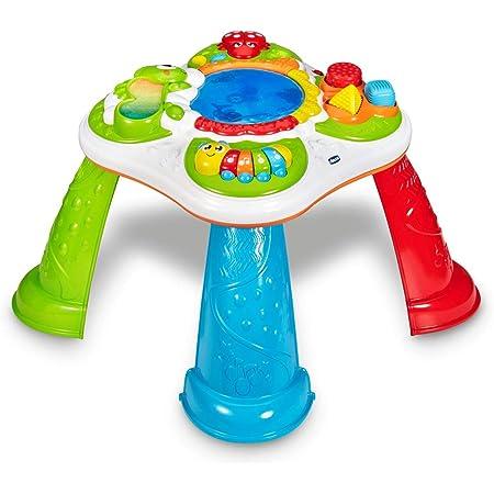 Chicco Tavolo Sensoriale per Bambini, Tavolino Multiattività Bambini Interattivo con 5 Aree Sensoriali, Gioco Elettronico Educativo con Effetti Sonori e Luminosi, Giochi per Bambini 10 Mesi, 4 Anni