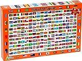 Little Wigwam - Fahnen und Hauptstädten Puzzle Für Kinder (Englisch)