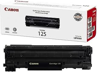Canon (CRG-125) imageCLASS LBP6030 Black OEM Toner Standard Yield (1,600 Yield)