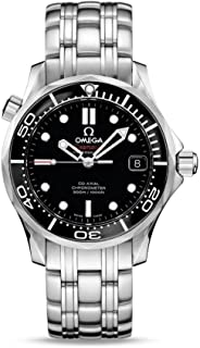 212.30.36.20.01.002 Seamaster Automatic Unisex Watch - Black Dial