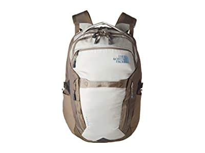 The North Face Surge Backpack (Dove Grey/Weimaraner Brown) Backpack Bags