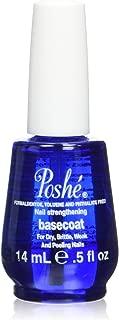 Poshe Nail Strengthening Treatment Base Coat, 0.5 Fluid Ounce