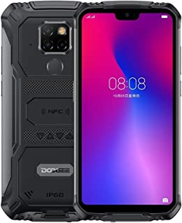 Doogee S68 Pro Rugged Phone, 6GB+128GB, IP68/IP69K Waterproof Dustproof Shockproof, MIL-STD-810G, 6300mAh Battery, Triple Back Cameras, Face & Fingerprint Identification, 5.84 inch Android 9.0 MTK6771