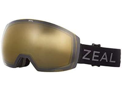 Zeal Optics Portal XL (Dark Night w/ Automatic+ YB + Persimmon Sky Blue Lens) Goggles